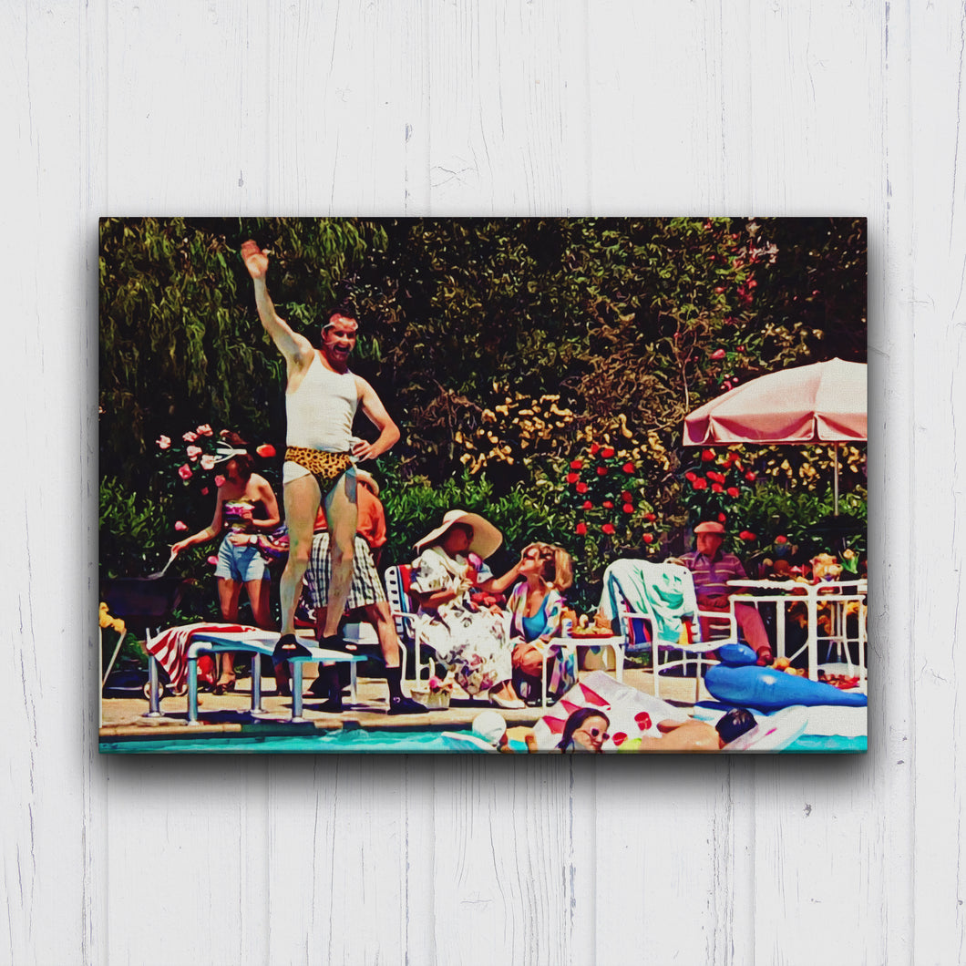Christmas Vacation Cousin Eddie Pool Canvas Sets