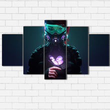 Load image into Gallery viewer, Cyber Punk Butterfly Canvas Sets