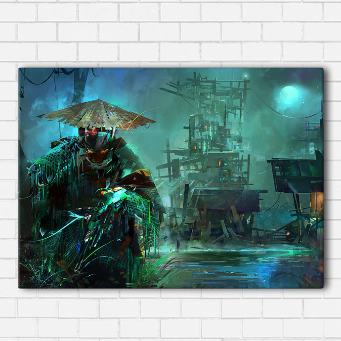 Cyber Punk Marsh Canvas Sets