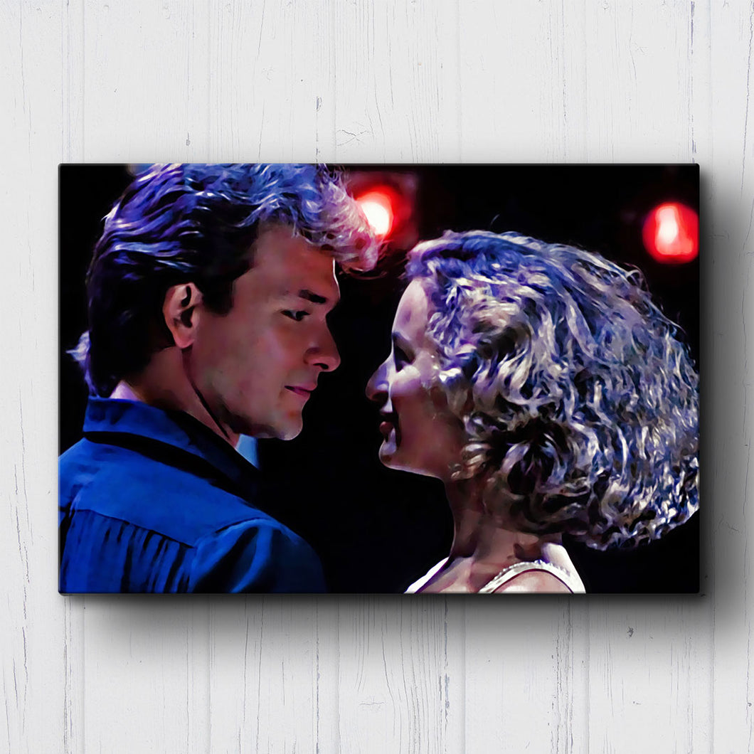 Dirty Dancing Johnny and Baby Canvas Sets
