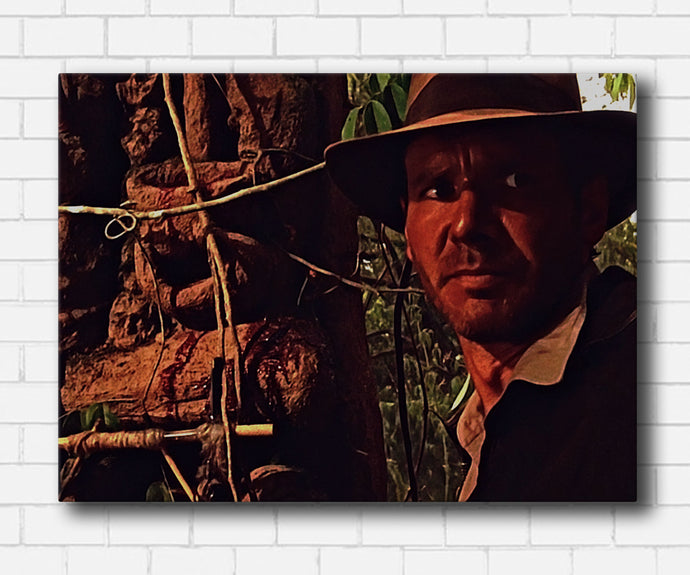 Indiana Jones Don't Come Up Here Canvas Sets