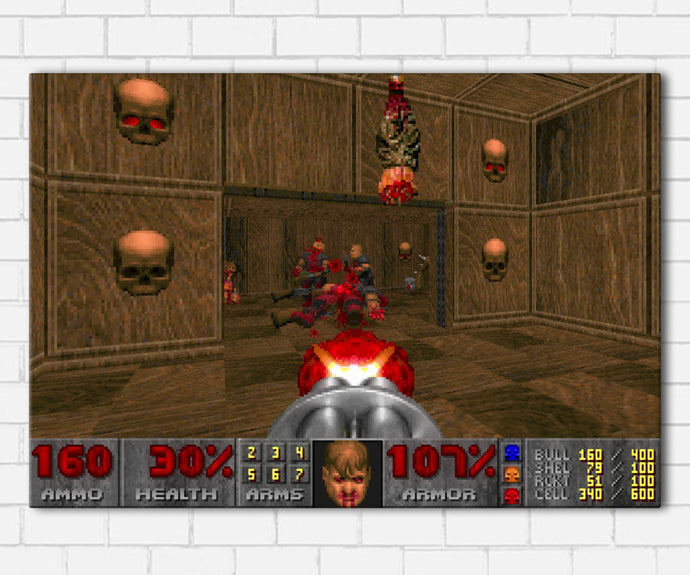 DOOM '93 Game Canvas Sets