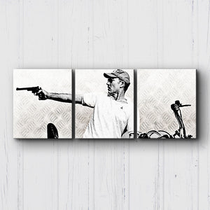 Fear And Loathing Raoul Motorcycle Canvas Sets
