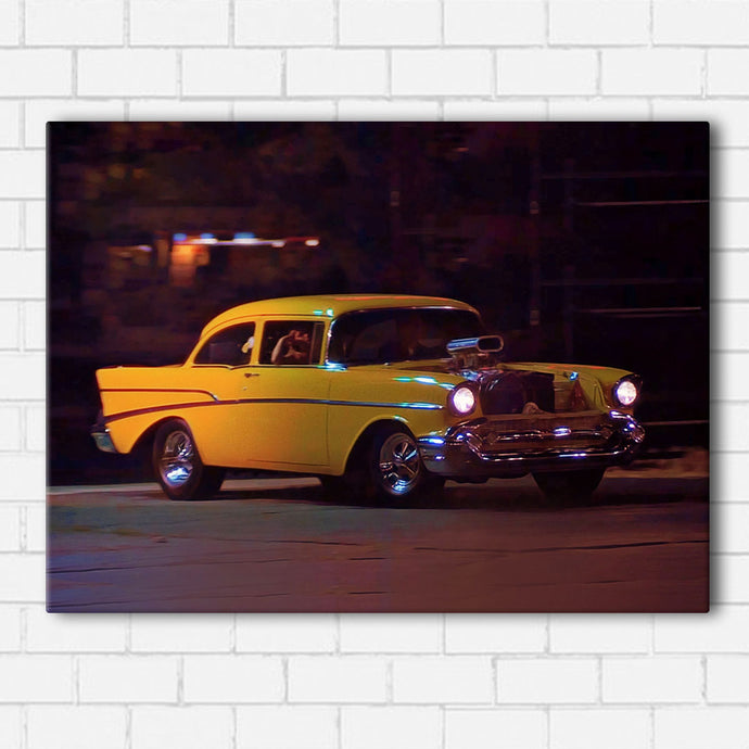 Hollywood Knights Dukes 57 Chevy Canvas Sets