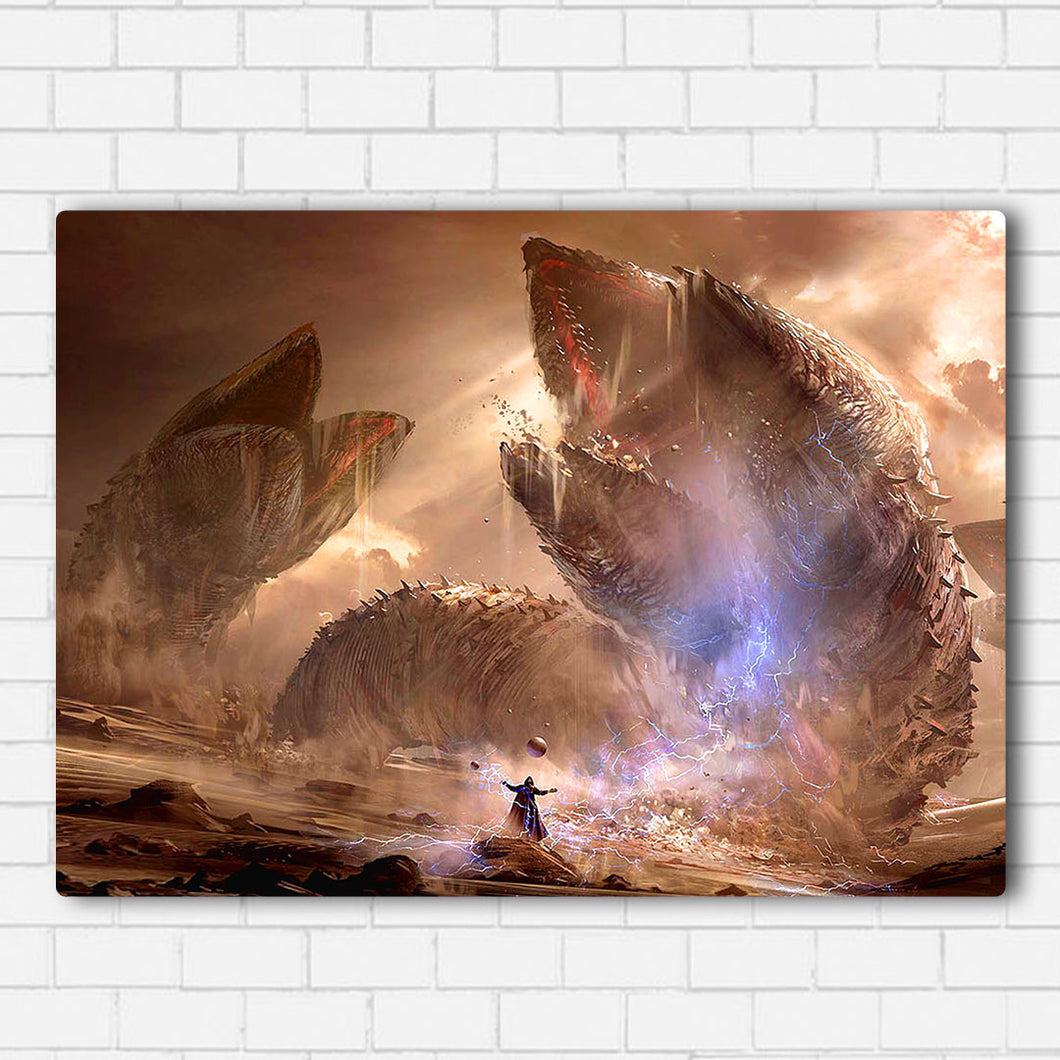 DUNE Sand Worms Canvas Sets