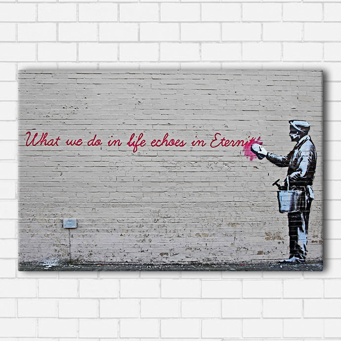 Banksy Echo Canvas Sets