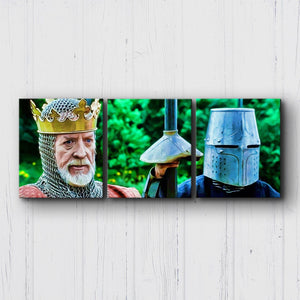 Braveheart Edward Longshanks Canvas Sets