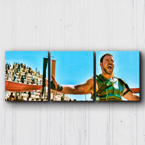 Gladiator Entertained Canvas Sets