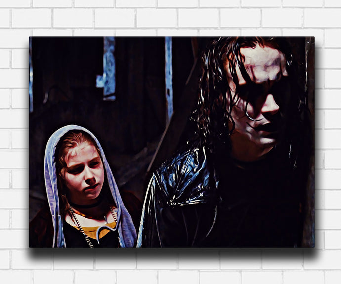 The Crow Eric and Sarah Canvas Sets