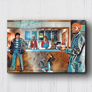 Coming to America Everybody Shut Up Canvas Sets