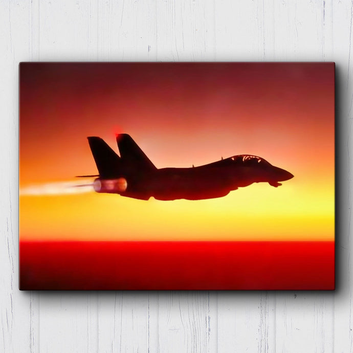 F-14 Sunset Canvas Sets