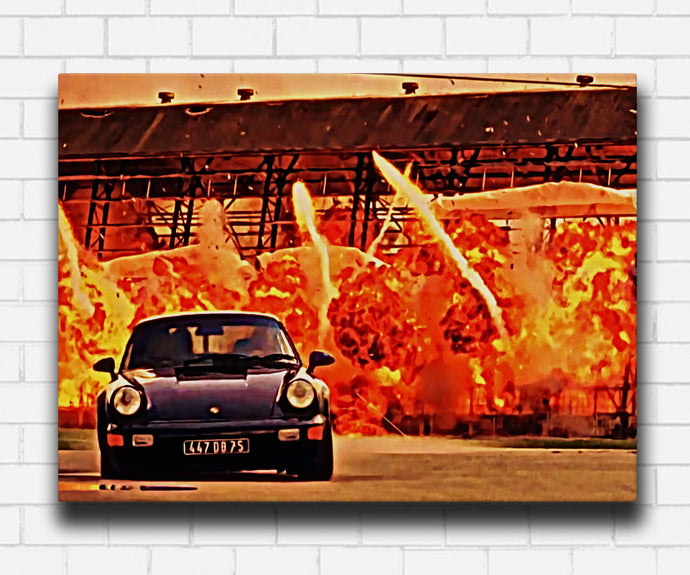 Bad Boys 1995 Fast Cars and Explosions Canvas Sets