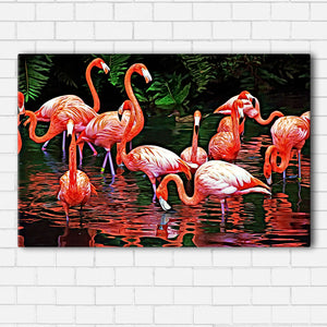 Flamingo Canvas Sets