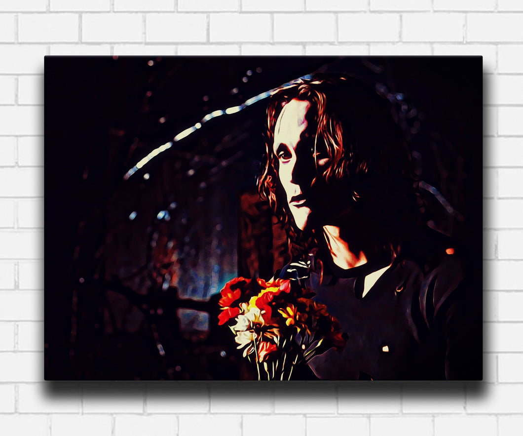 The Crow Flowers Canvas Sets