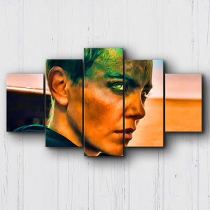 Mad Max Fury Road Furiosa Canvas Sets
