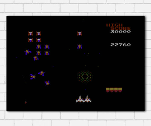 Galaga Canvas Sets