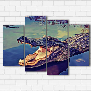 Alligator Canvas Sets
