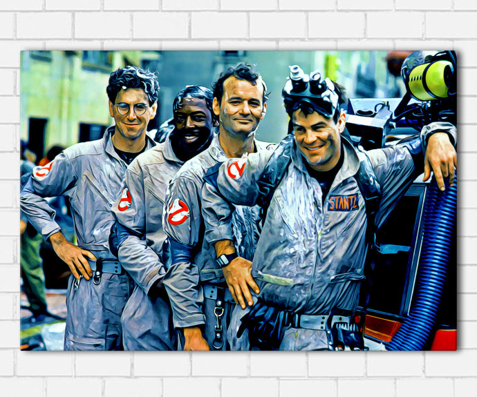 1984 Ghostbusters Team Canvas Sets