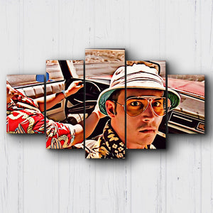 Fear And Loathing Good Guys Canvas Sets