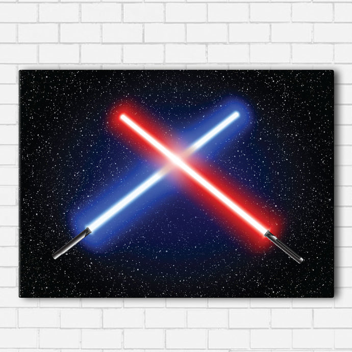 Good Vs Evil Saber Canvas Sets