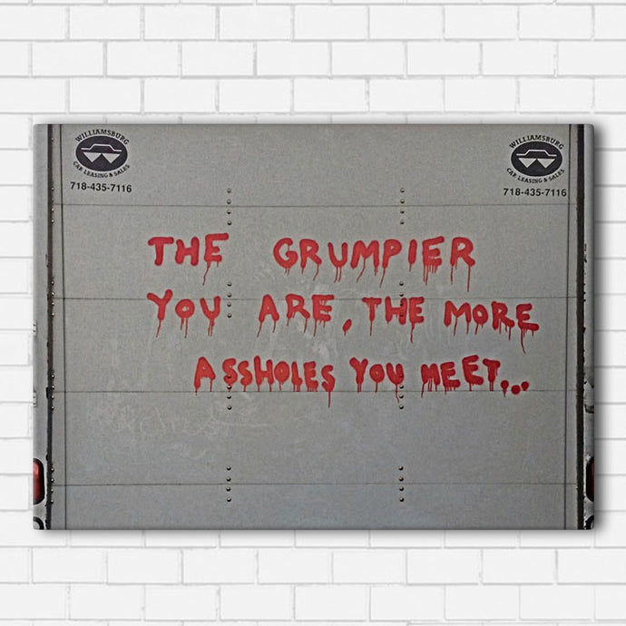 Banksy Grumpy Canvas Sets