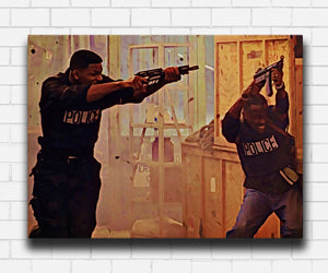 Bad Boys 1995 Mike and Marcus VS Bad Guys Canvas Sets
