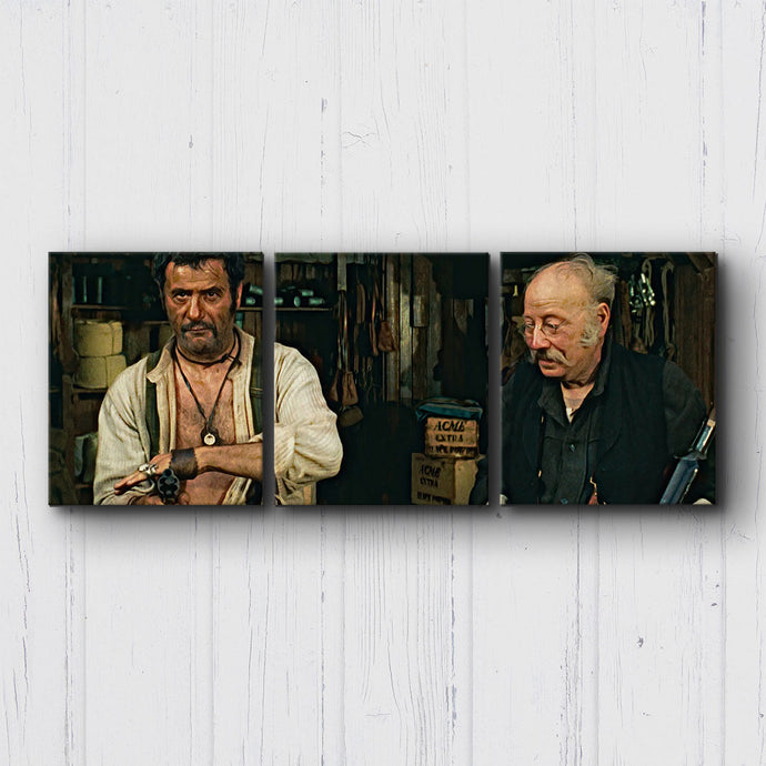 The Good The Bad The Ugly Gun Range Canvas Sets