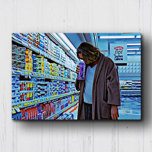 The Big Lebowski Half & Half Canvas Sets