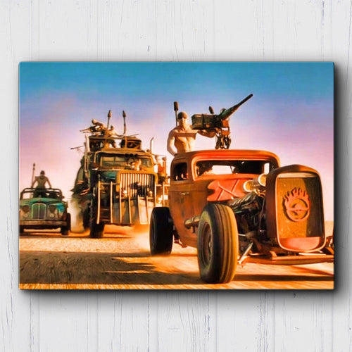 Mad Max Fury Road Headed East Canvas Sets