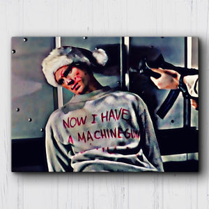 Die Hard Ho Ho Ho Canvas Sets