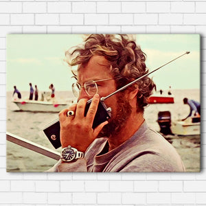 "Jaws- Hooper Canvas SetsWall Art1 PIECE / SMALL / Standard (.75"") - Radicalave"