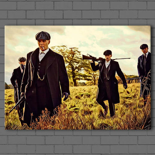 Peaky Blinders- The Hunt Canvas Sets