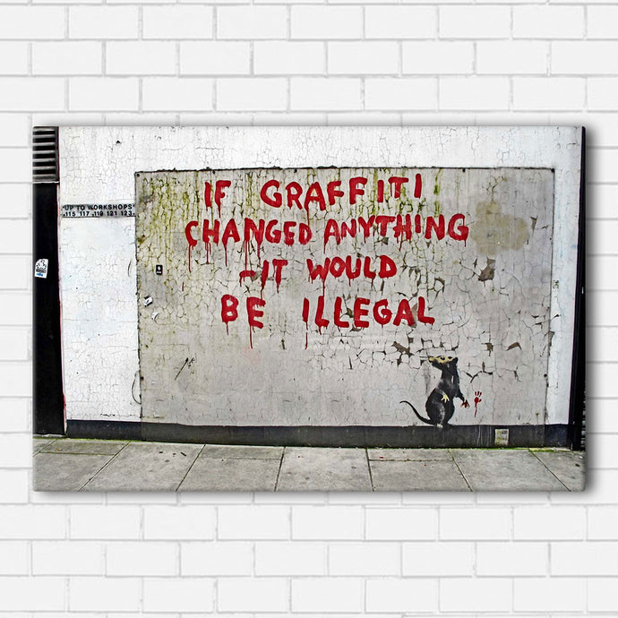 Banksy Illegal Canvas Sets