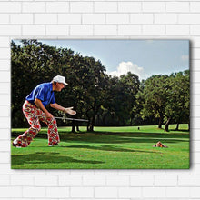 Load image into Gallery viewer, Caddyshack Kangaroo Stole My Ball Canvas Sets