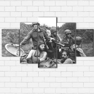 "Kelly's Heroes - The Crew Canvas SetsWall Art5 PIECE / SMALL / Standard (.75"") - Radicalave"
