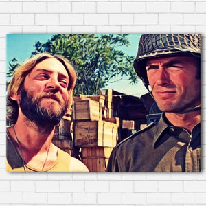 "Kelly's Heroes - Kelly and Oddball Canvas SetsWall Art1 PIECE / SMALL / Standard (.75"") - Radicalave"