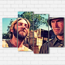 "Load image into Gallery viewer, Kelly's Heroes - Kelly and Oddball Canvas SetsWall Art4 PIECE / SMALL / Standard (.75"") - Radicalave"