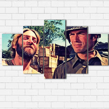 "Load image into Gallery viewer, Kelly's Heroes - Kelly and Oddball Canvas SetsWall Art5 PIECE / SMALL / Standard (.75"") - Radicalave"