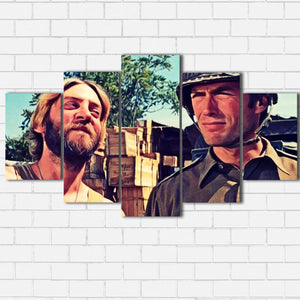 "Kelly's Heroes - Kelly and Oddball Canvas SetsWall Art5 PIECE / SMALL / Standard (.75"") - Radicalave"