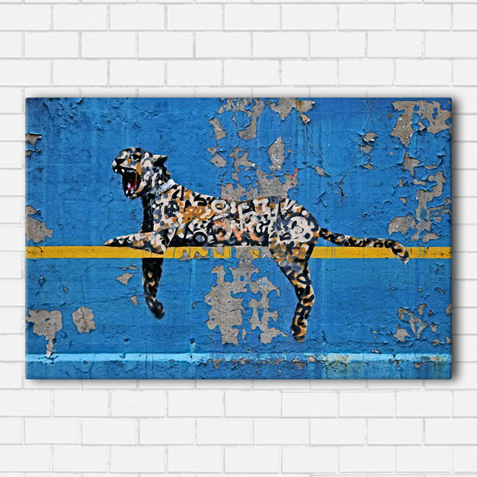 Banksy Leopard Canvas Sets