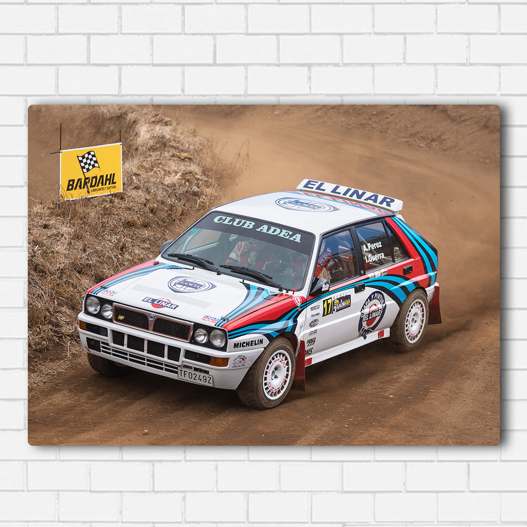 Lancia Rally Canvas Sets