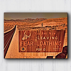 Fear And Loathing Leaving Canvas Sets