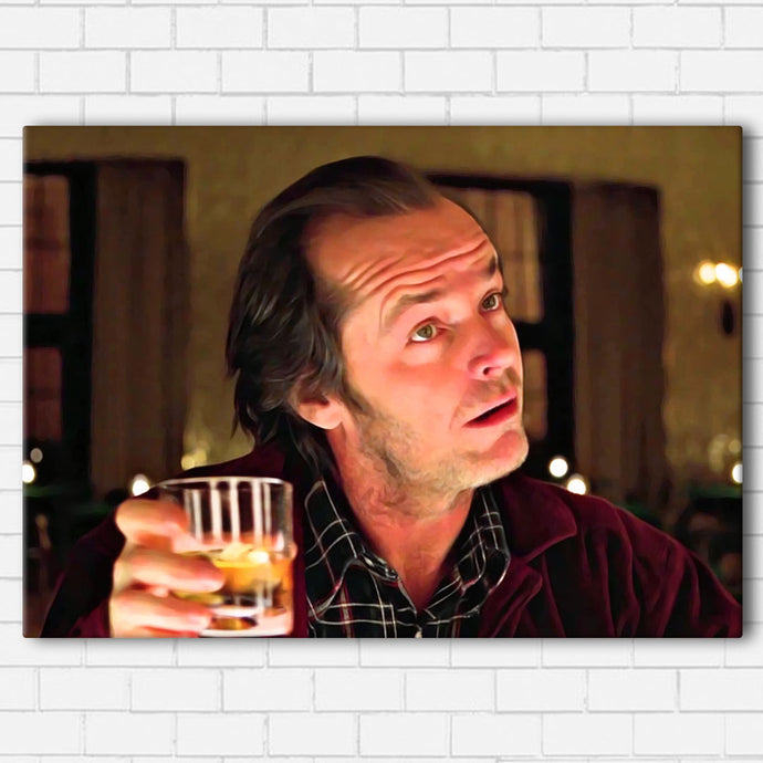 The Shining - Jack and Coke Canvas SetsWall Art1 PIECE / SMALL / Standard (.75