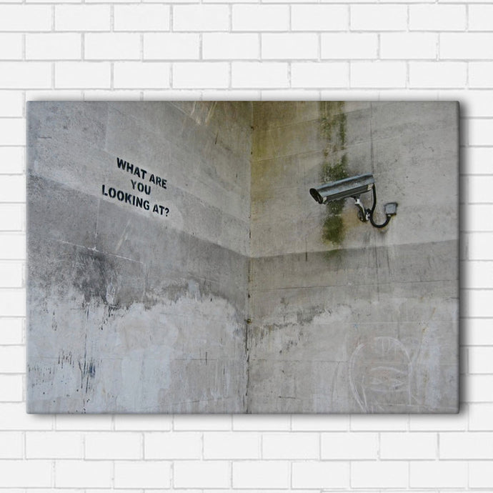 Banksy looking Canvas Sets