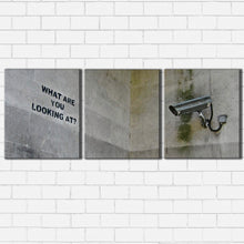 Load image into Gallery viewer, Banksy looking Canvas Sets