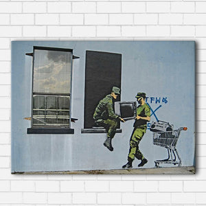 Banksy Looter's Canvas Sets