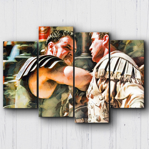 Gladiator Maximus Vs Commodes Canvas Sets