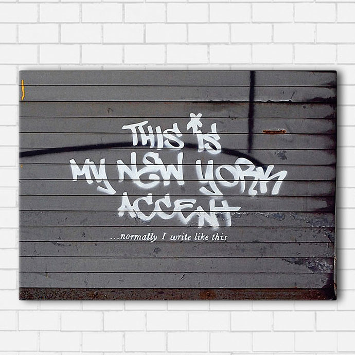 Banksy New York Canvas Sets