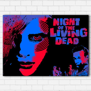 "NIGHT OF THE LIVING DEAD Canvas SetsWall Art1 PIECE / SMALL / Standard (.75"") - Radicalave"