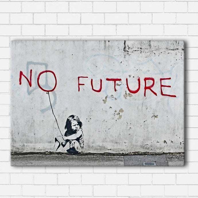 Banksy No Future Canvas Sets
